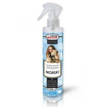 BENEK NEUTRALIZATOR ZAPACHÓW SPRAY MORSKI 250 ML