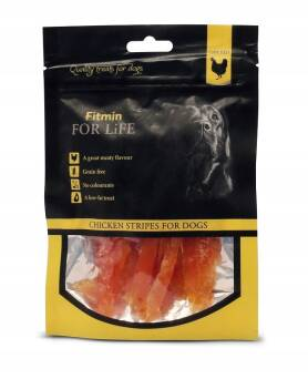 FITMIN FOR LIFE 70G CHICKEN STRIPES FILET DLA PSA