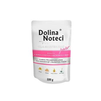 DOLINA NOTECI PREMIUM JUNIOR MINI INDYK GĘŚ 100G
