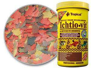 3.1.3. TROPICAL ICHTIO-VIT  250ML / 50G PUSZKA ORIGINAL