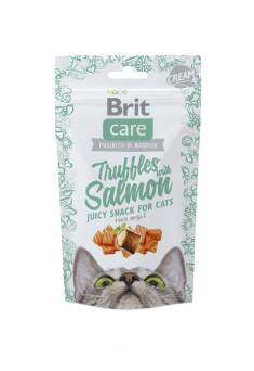 BRIT CARE TRUFFLES SNACK CAT SALMON + OMEGA-3 50G