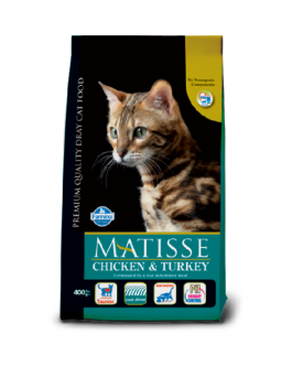 FARMINA MATISSE CHICKEN TURKEY & VEGETABLE 400G