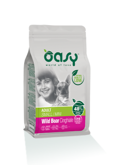 OASY ONE ANIMAL PROTEIN DRY ADULT SMALL/MINI DZIK 2,5 KG