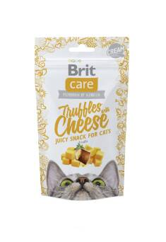 BRIT CARE TRUFFLES SNACK CAT CHEESE + INULINA 50G