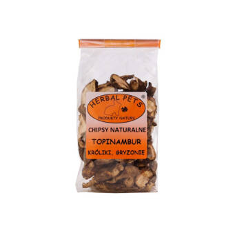 HERBAL PETS TOPINAMBUR 75G CHIPSY NATURALNE