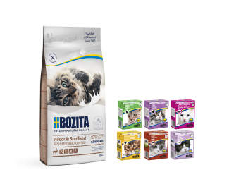 BOZITA KOT INDOOR STERILISED RENIFER BEZ ZBÓŻ 10kG