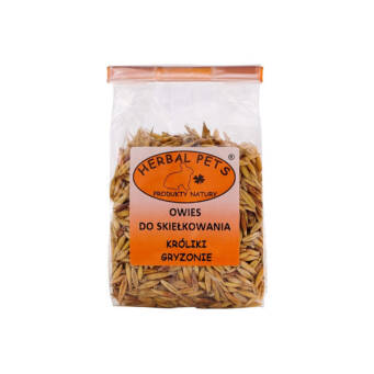 HERBAL PETS OWIES DO SKIEŁKOWANIA 100G KRÓLIK GRYZ