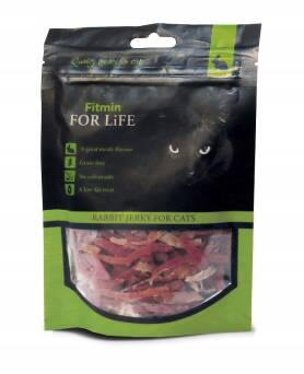 FITMIN FOR LIFE 70G RABBIT JERKY FILET PIES I KOT