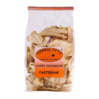 HERBAL PETS CHIPSY NATURALNE PASTERNAK 125G
