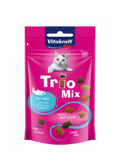 VITAKRAFT CAT TRIO MIX RYBA 60G