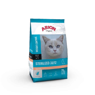 ARION ORIGINAL CAT STERIL SALMON 7,5KG
