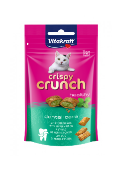 VITAKRAFT CAT CRISPY CRUNCH DENTAL Z MIĘTĄ 60 G
