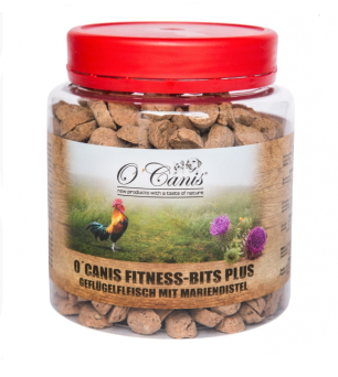 O'CANIS FITNESS BITS PLUS DRÓB OSTROPEST 300G